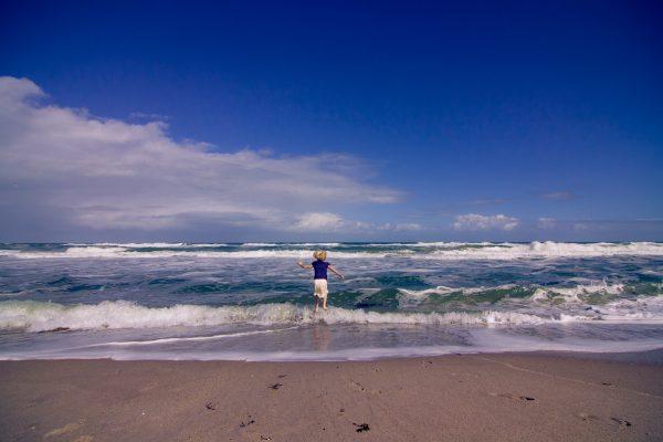 Strip Down At Playalinda Beach, Florida