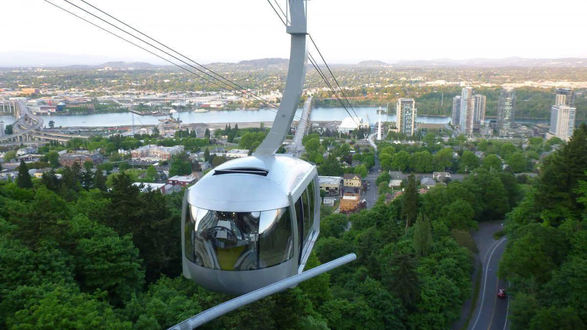 Portland Aerial Tram Ride