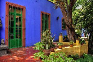 Frida Kahlo's House, Coyoacán, Mexico City