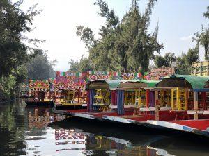 Xochimilco, Lake Texcoco, Mexico City