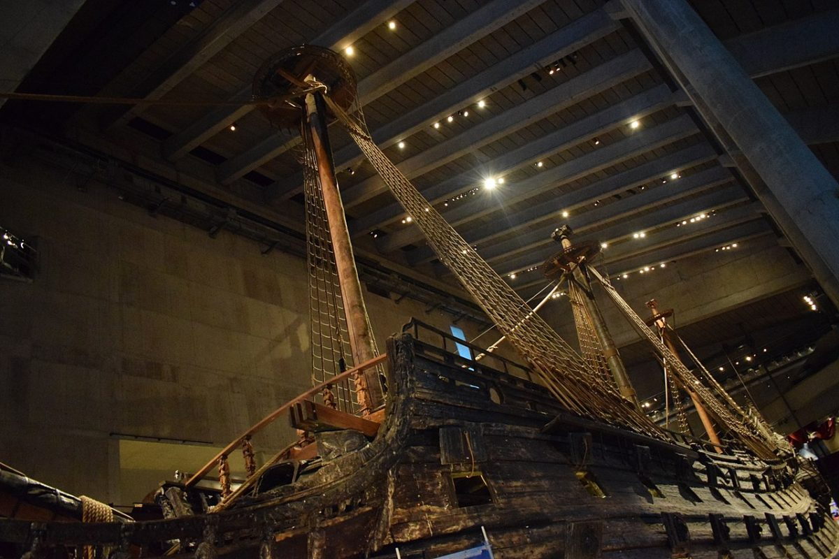 Vasa Museum, picture of the impressive Vasa Vessel found in the museum