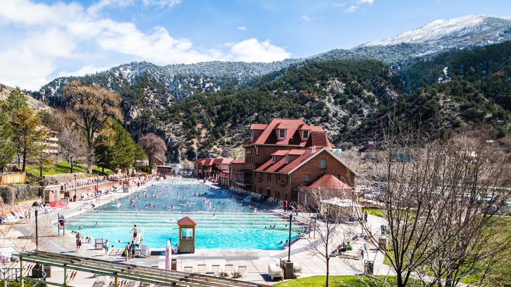 Glenwood Hotsprings, Colorado, Best Hot Springs U.S.