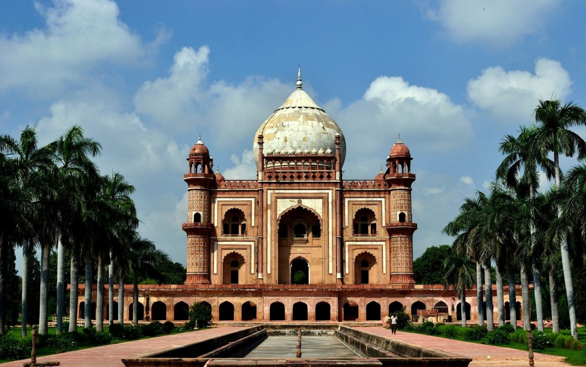 The Safdarjung tomb, New Delhi, India