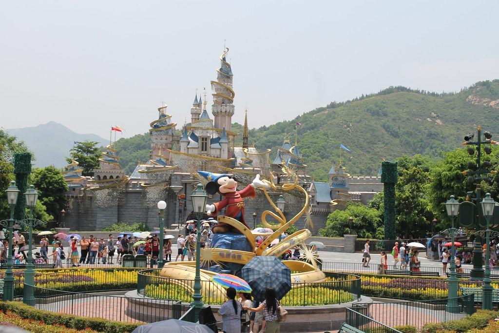 Main Street U.S.A, Hong Kong Disneyland.