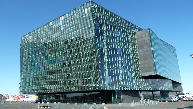 Harpa Reykjavik Concert Hall is home to a variety of concerts and operas throughout the year