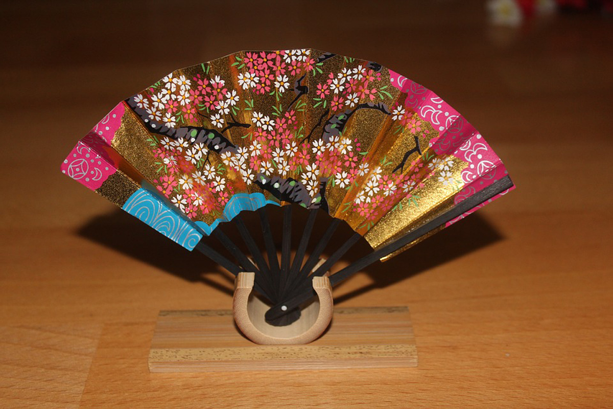Traditional Japanese Hand Fan
