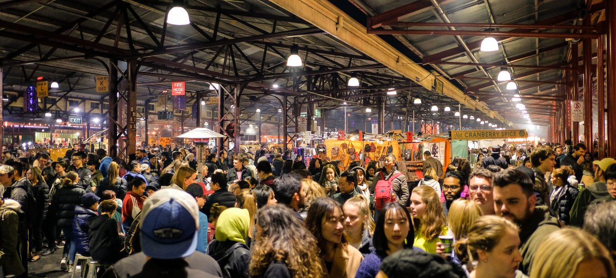 Winter events at Queen Victoria Market, Melbourne