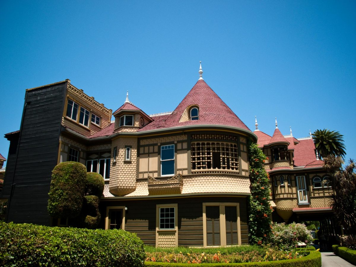 A view of Winchester Mystery House