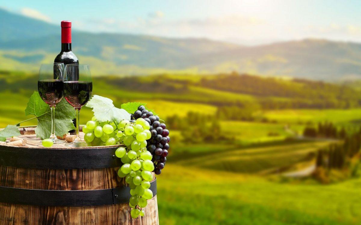 Winery tour at Santorini