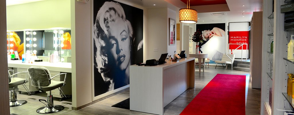 Marilyn Monroe Spa at the Hyatt Grand Cypress