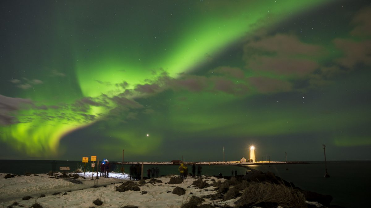The Aurora Reykjavik center lets you find out all about the Aurora Borealis, otherwise known as the Northern Lights