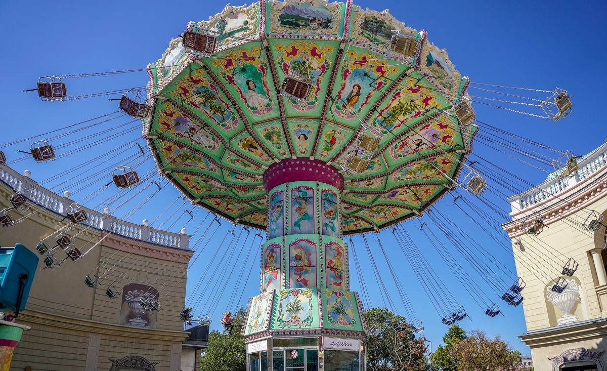 Vienna's Prater is home to the Giant Ferris Wheel that offers a panoramic view of Vienna 65m in the air