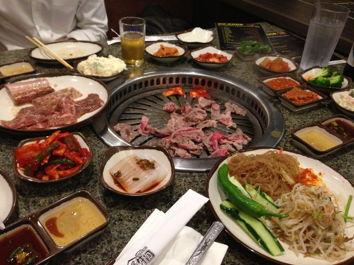 Korean BBQ in LA
