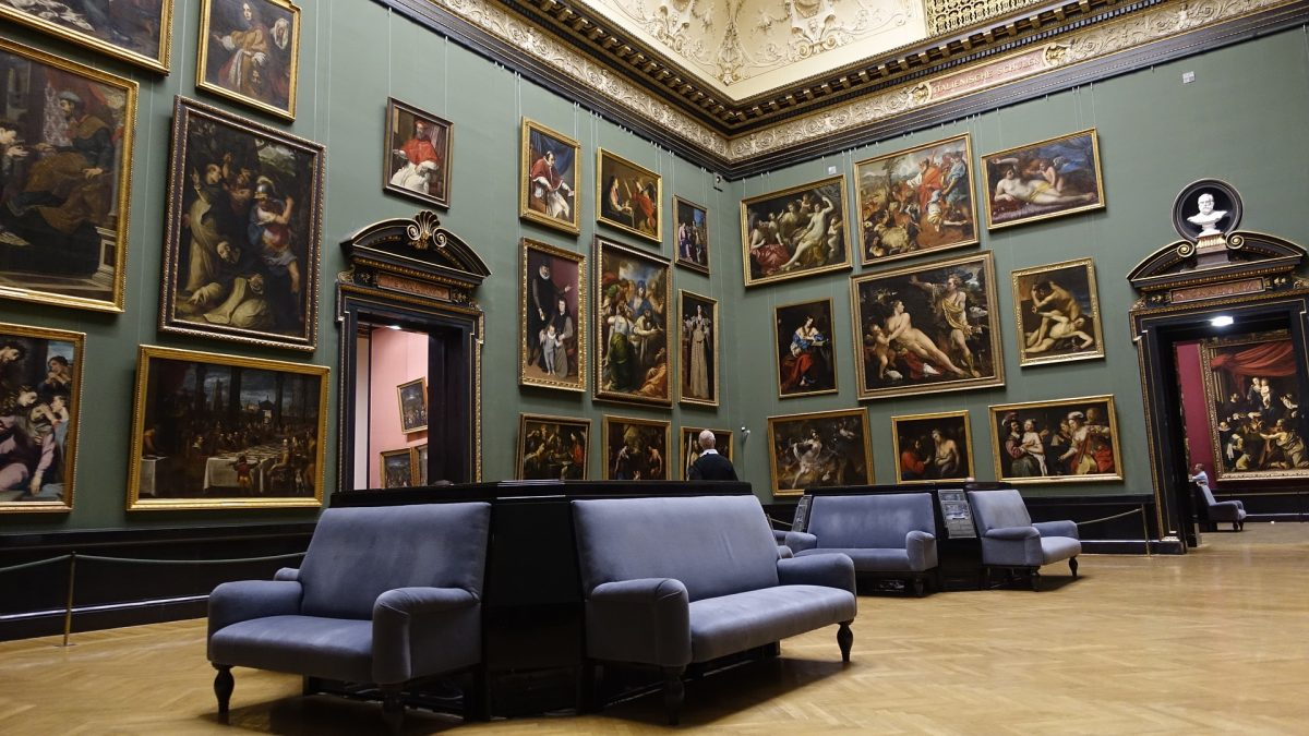 The Kunsthistorisches Museum compromises of a collection of fine art from notable artists like Velazquez, Raphael and Rembrandt