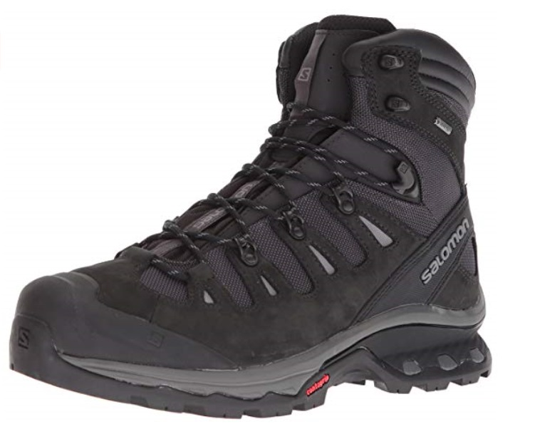 5. Salomon Mens Quest 4d 3 GTX Backpacking Boots Amazon - The Best Winter Boots For Your Next Adventure
