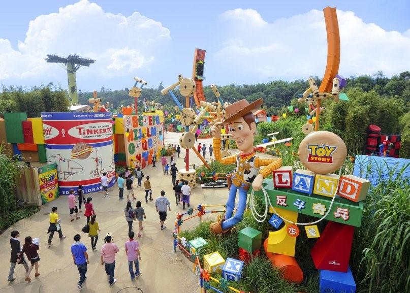 Toy Story Land, Hong Kong Disneyland.