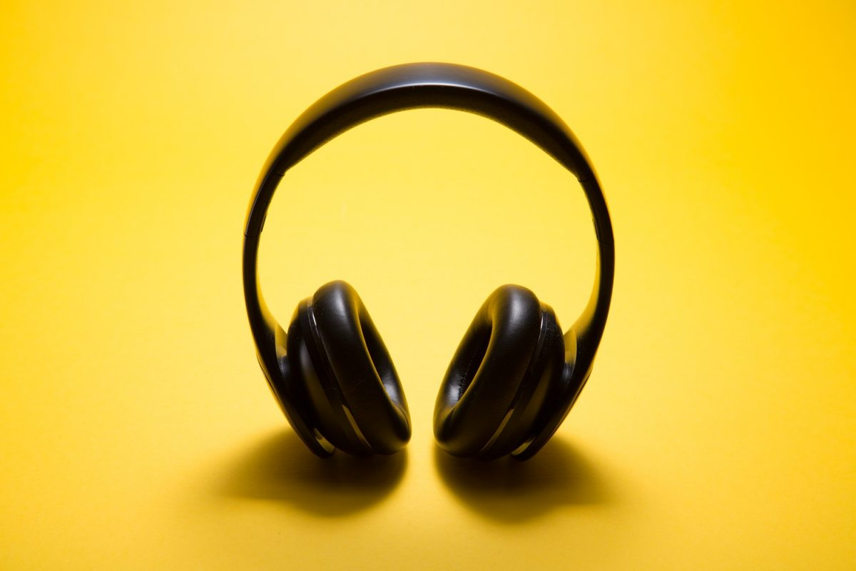 Headphones; a must-have for travel