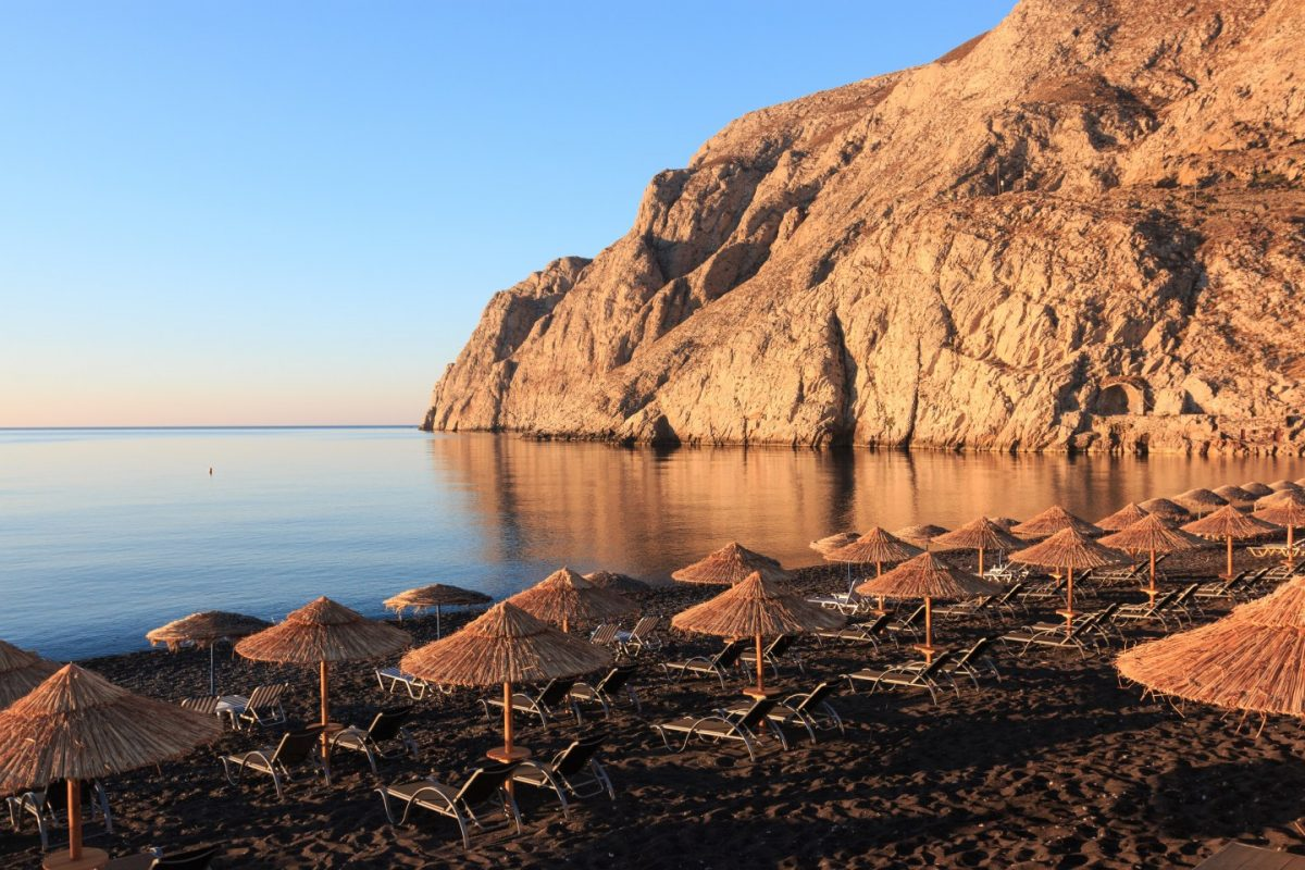 Best beaches of Santorini, Greece