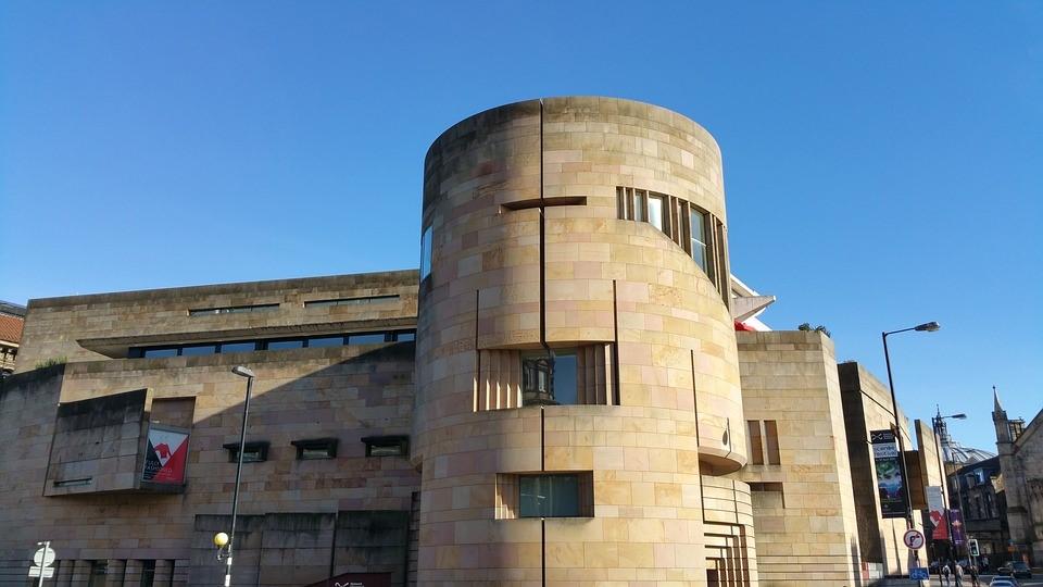 The National Museum of Scotland in Edinburgh houses vast collections of Scottish antiquities, history and culture