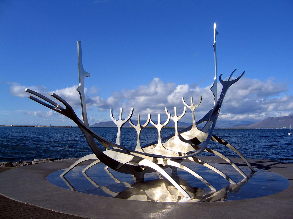 The Solfar Sculpture is an eye-catching structure that is one of the best photo stops in Reykjavik