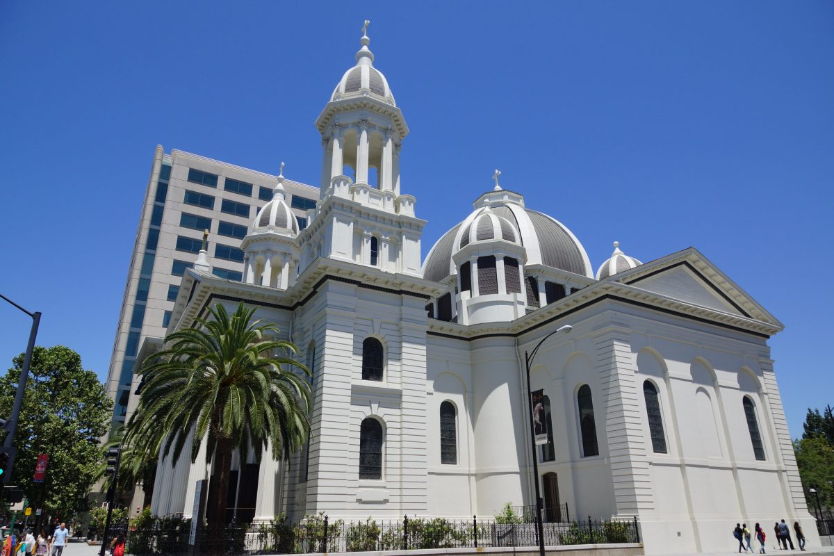 The Cathedral Basilica of St. Joseph in Downtown San Jose