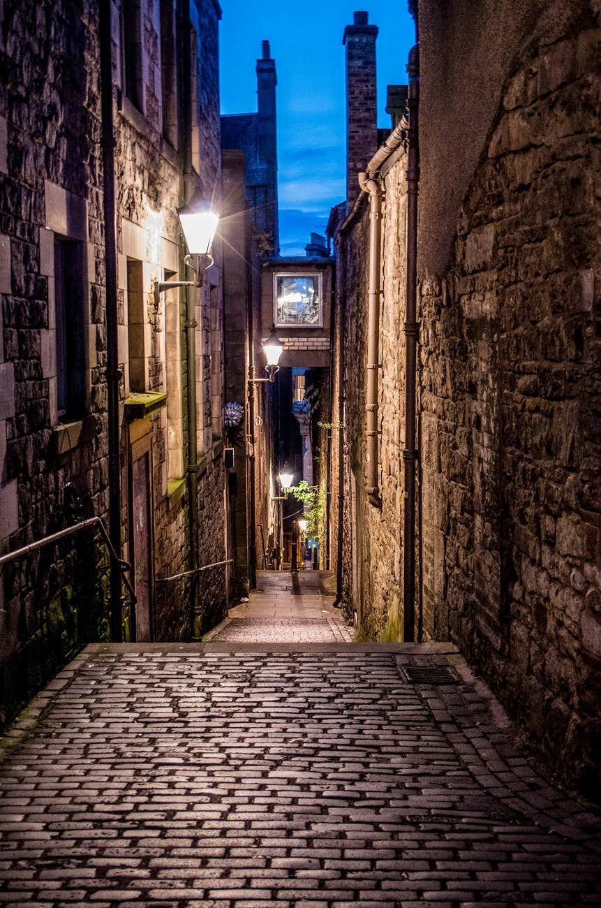 The Real Mary King's Close in Edinburgh is a historic site located underground on the Royal Mile