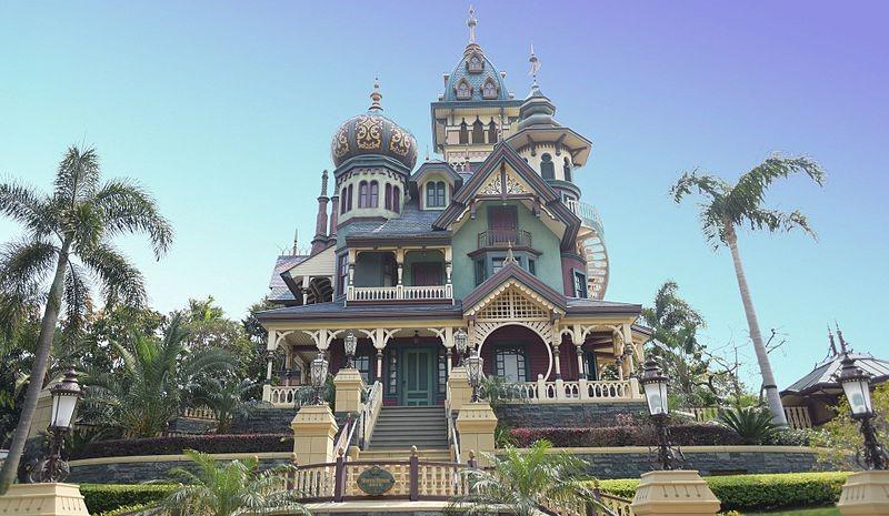 """Mystic Manor"" in Mystic Point, Hong Kong Disneyland."