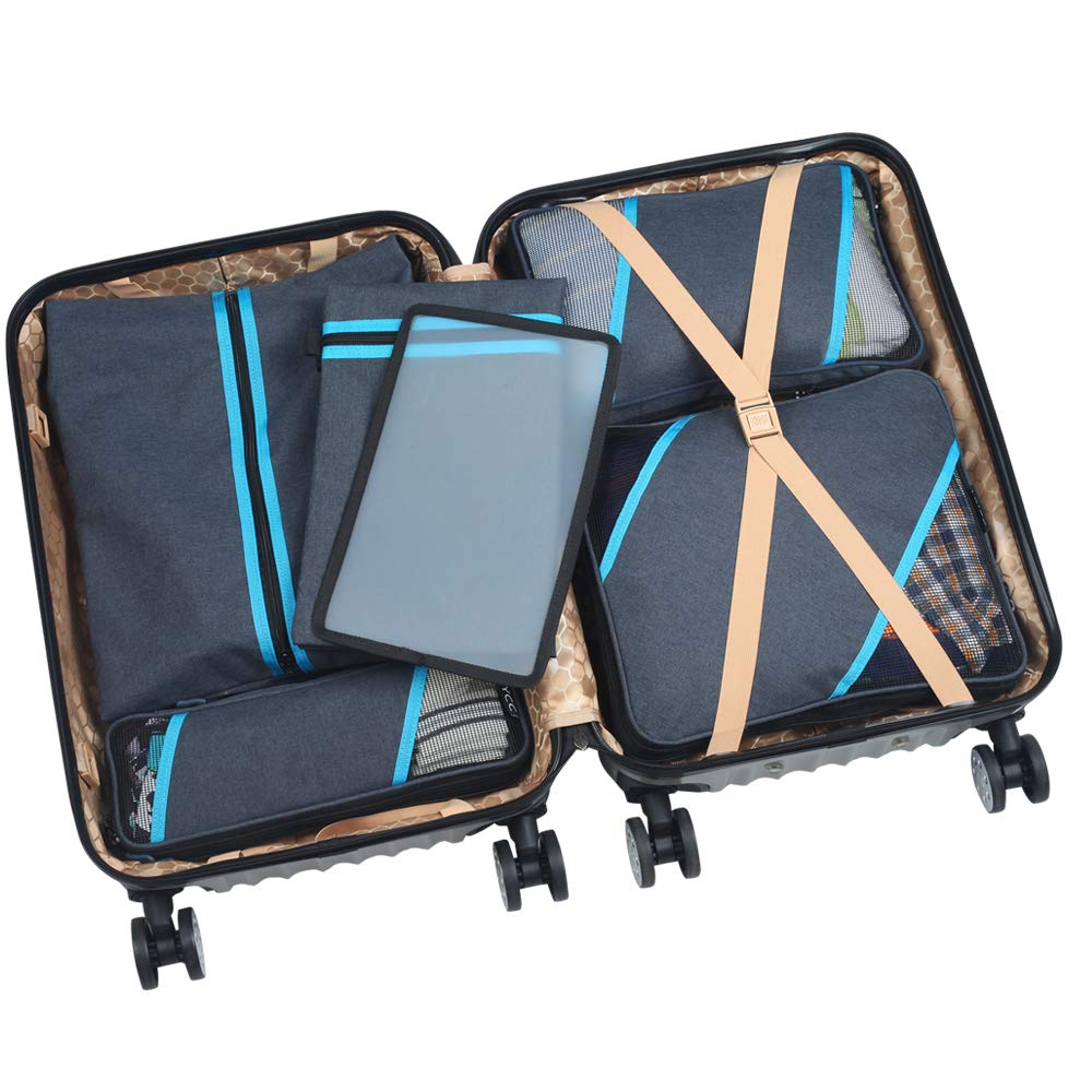 Compression bags save space in your travel bag