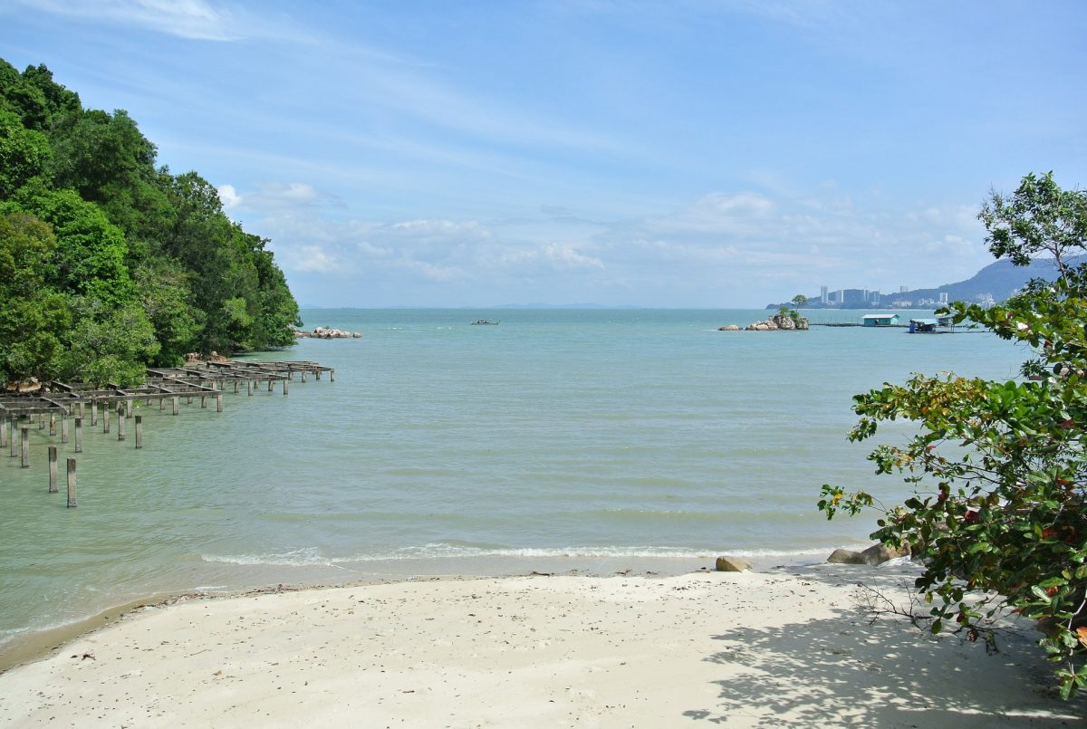Penang National Park offers several hiking trails and the most pristine beaches you'll ever see