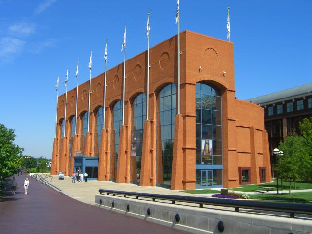 NCAA Hall of Champions in Indianapolis