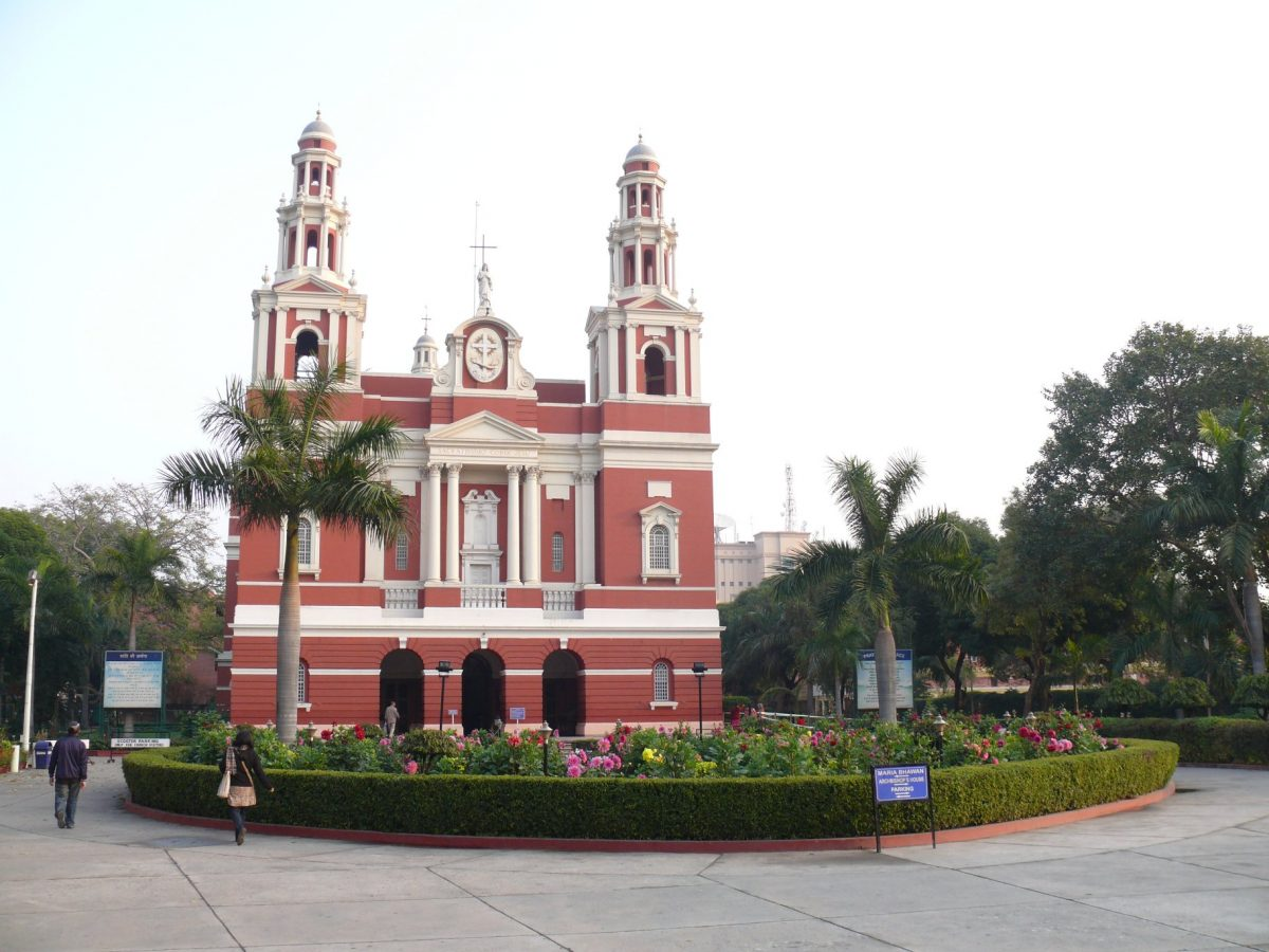 The Sacred Heart Cathedral, New Delhi, India