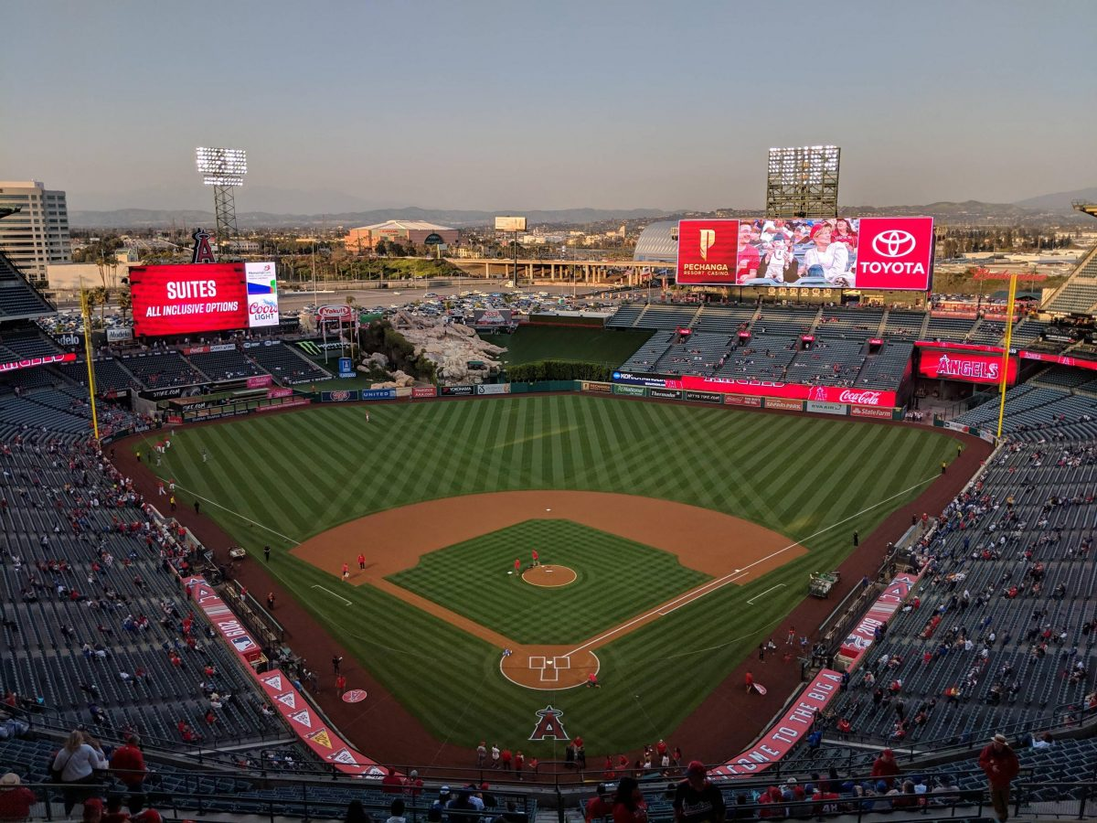 Enjoy a thrilling Major League Baseball game at Angel Stadium