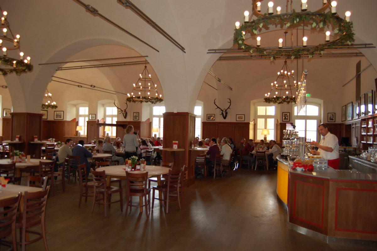 Spacious authentic Austrian Stiegl Brewery in Salzburg