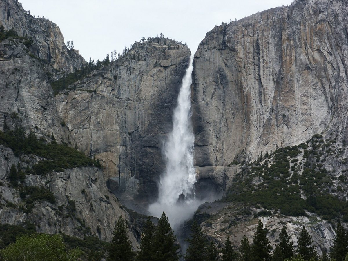 Bridalveil Falls California
