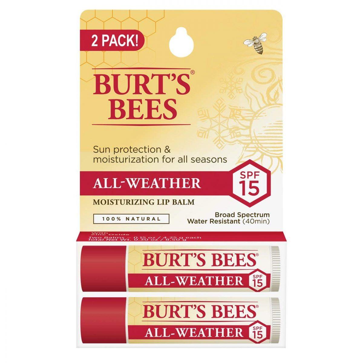 Burt's Bee SPF 15