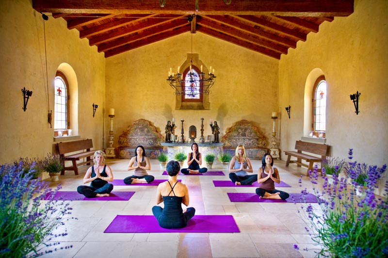 Wellness center at Cal-A-Vie