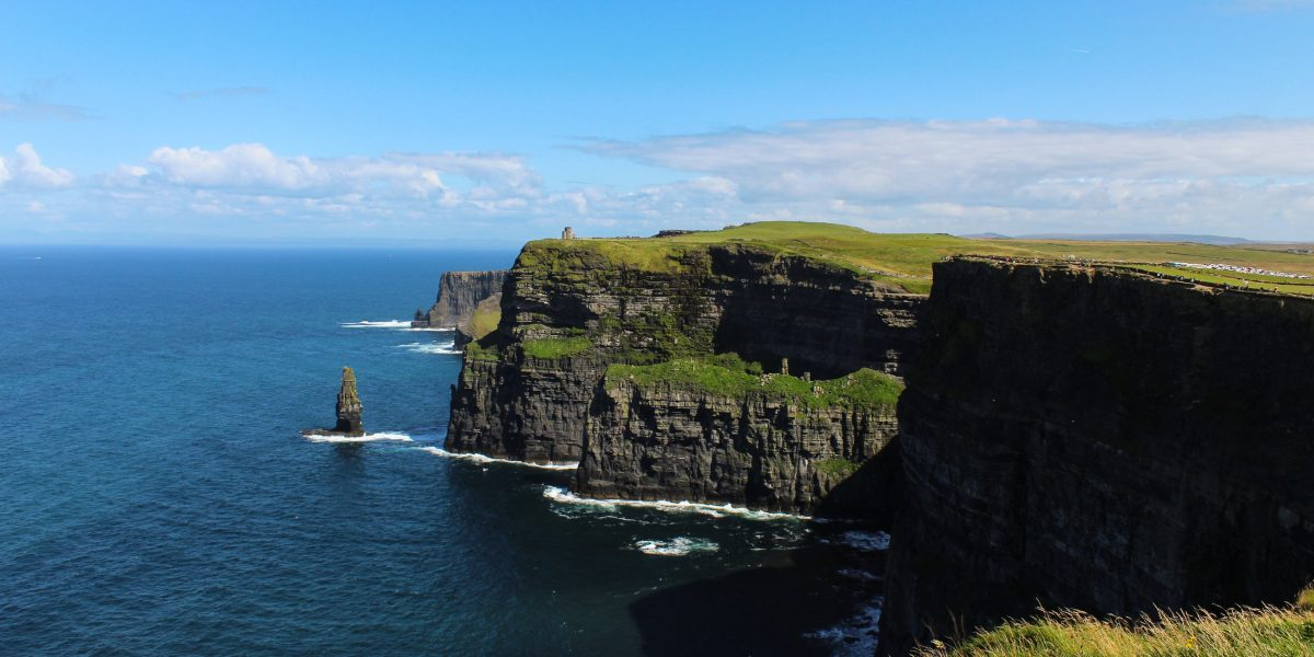 The breathtaking sight of the Cliffs of Moher