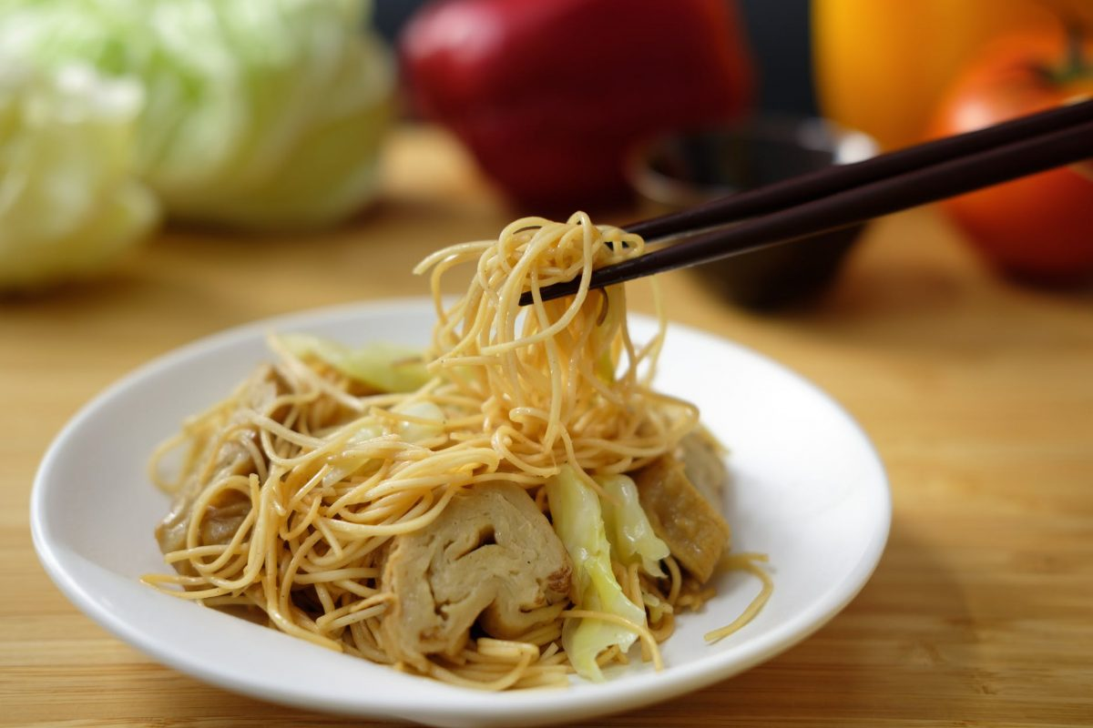 """Chow Mein"", which means fried noodles in Chinese, is a loose umbrella term for any dish that comprises of fried noodles"