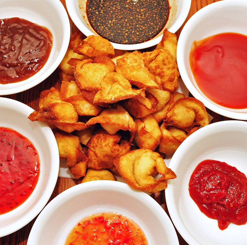 Crab Rangoon contains cream cheese, which is an ingredient which almost never appears in authentic Chinese food