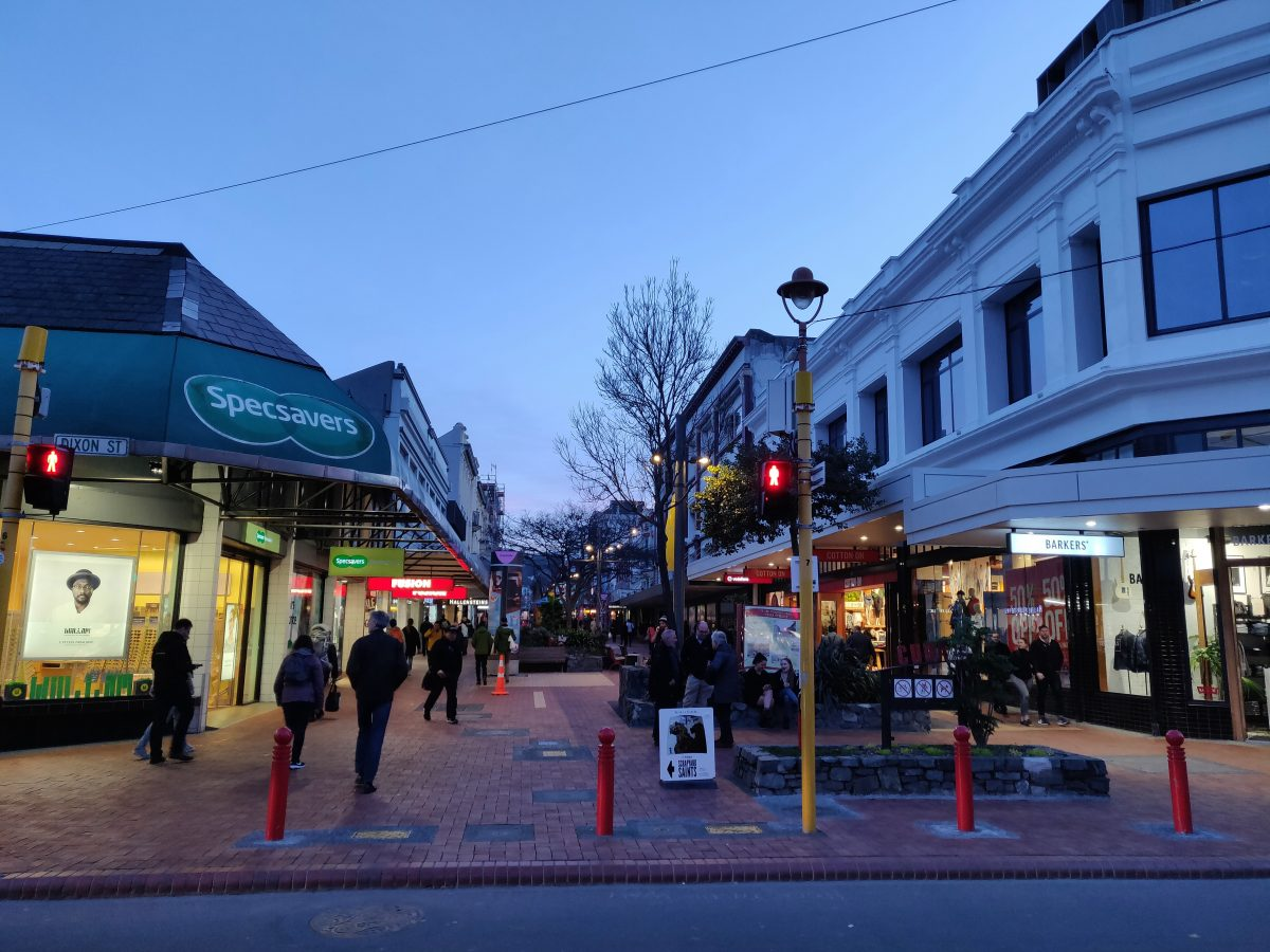 Wellington's Cuba Street is home to many of Wellington's historic buildings, as well as cafes, boutiques, music shops and art galleries
