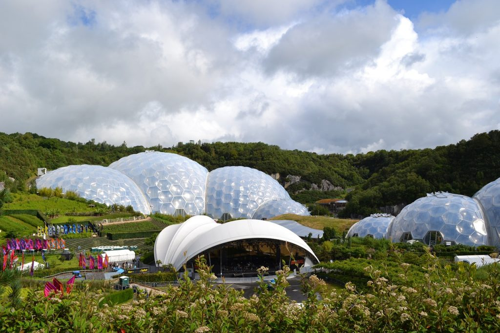 Eden Project Cornwall England