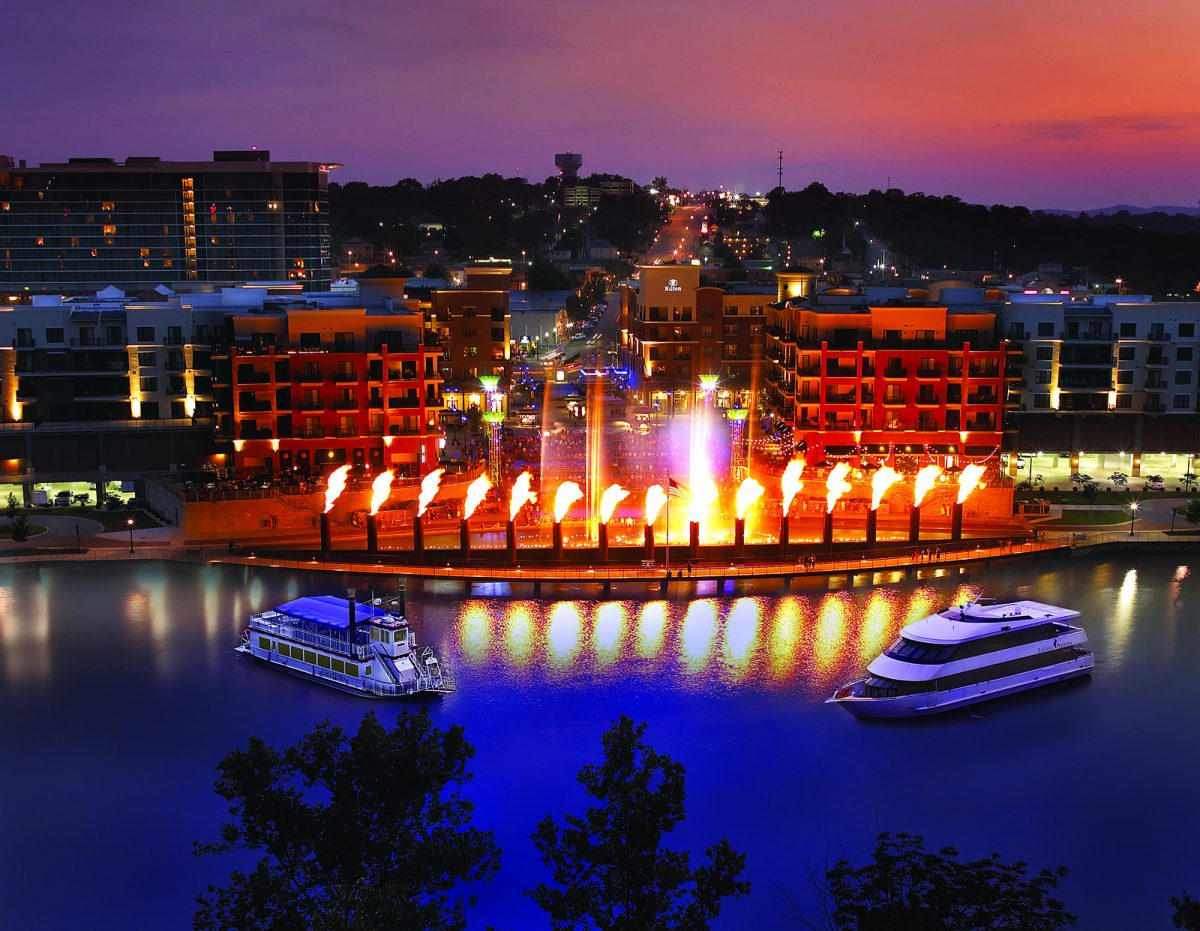 Having played host to many country music artists in the past, Branson offers a wide array of entertainment options today