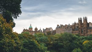 With its gorgeous castles and wealth of cultural attractions, Edinburgh, Scotland is the UK's second most popular destination behind London