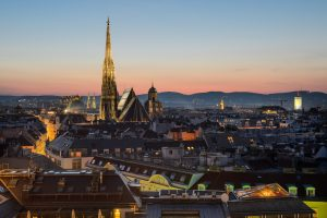 With its beautiful modern art galleries and exquisite cuisine, Vienna is the heaven of arts and music for some and an enchanting city break to all of us