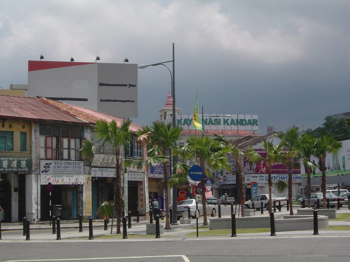 Known for its British colonial buildings, George Town is the food capital of Malaysia