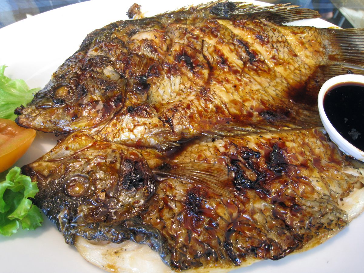 Balinese grilled fish in Bali
