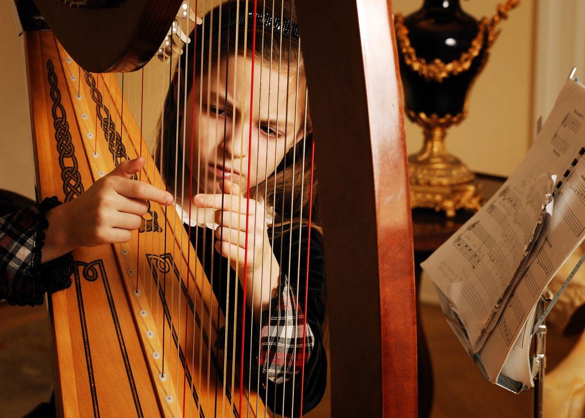 A vintage Harp in Ireland
