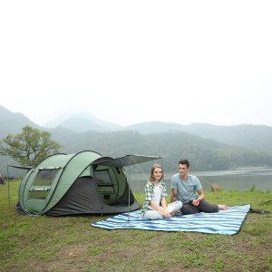 Hewolf pop up tent