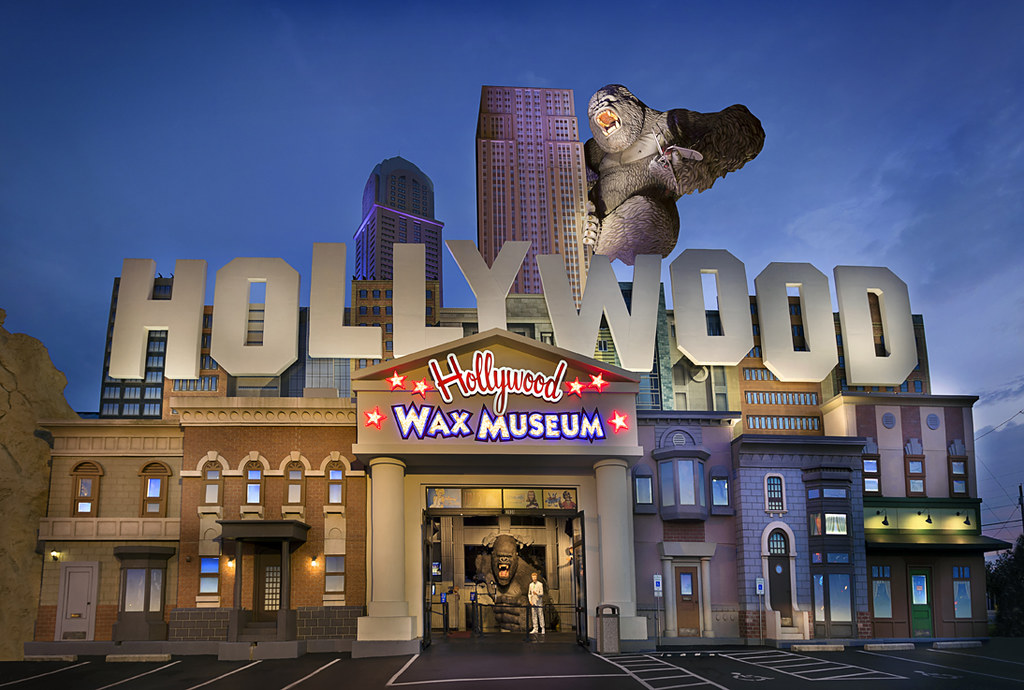 The Hollywood Wax Museum Entertainment Center in Branson allows visitors to get up close and personal with some of their favourite Hollywood stars