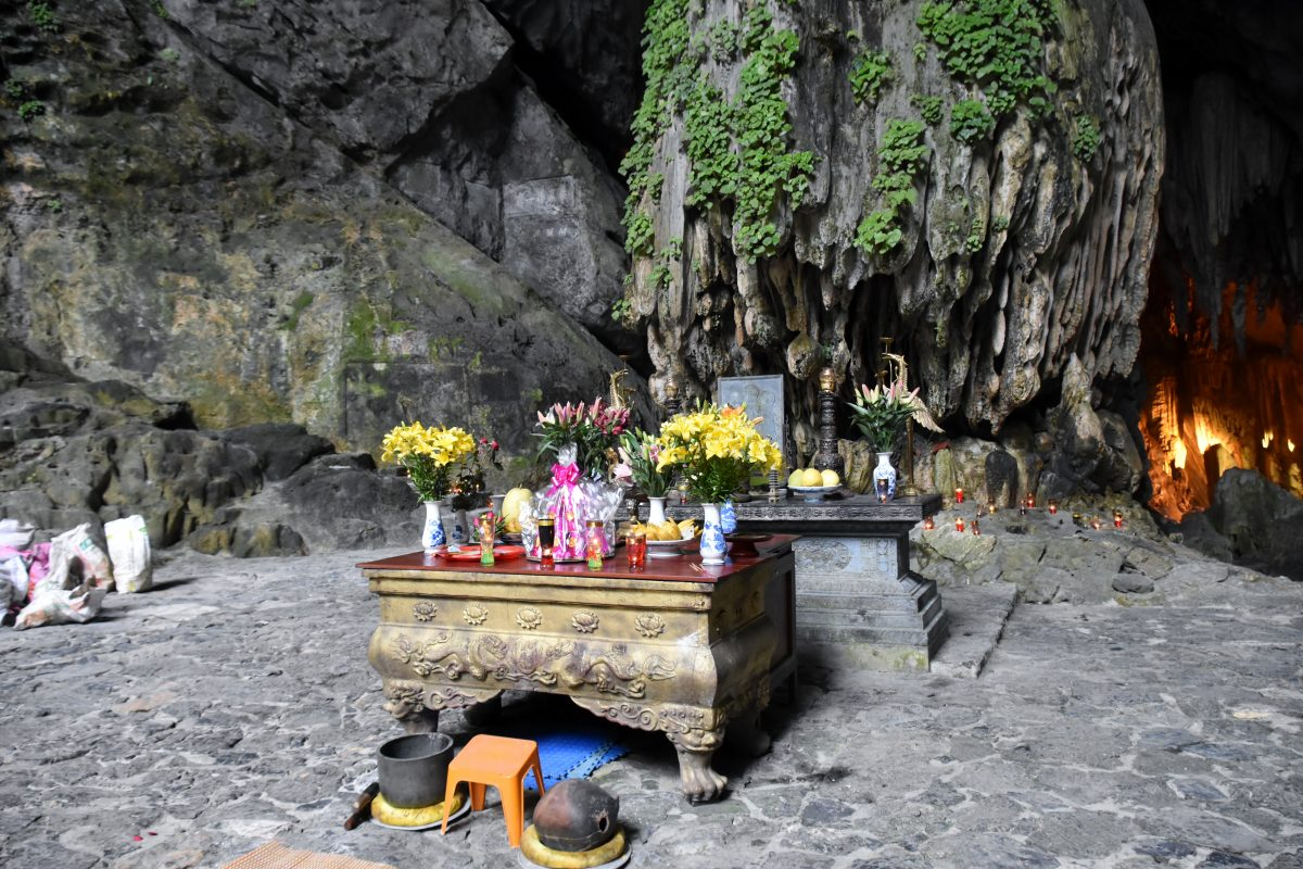 Unique cave with lush greens at Perfume Pagoda Hanoi